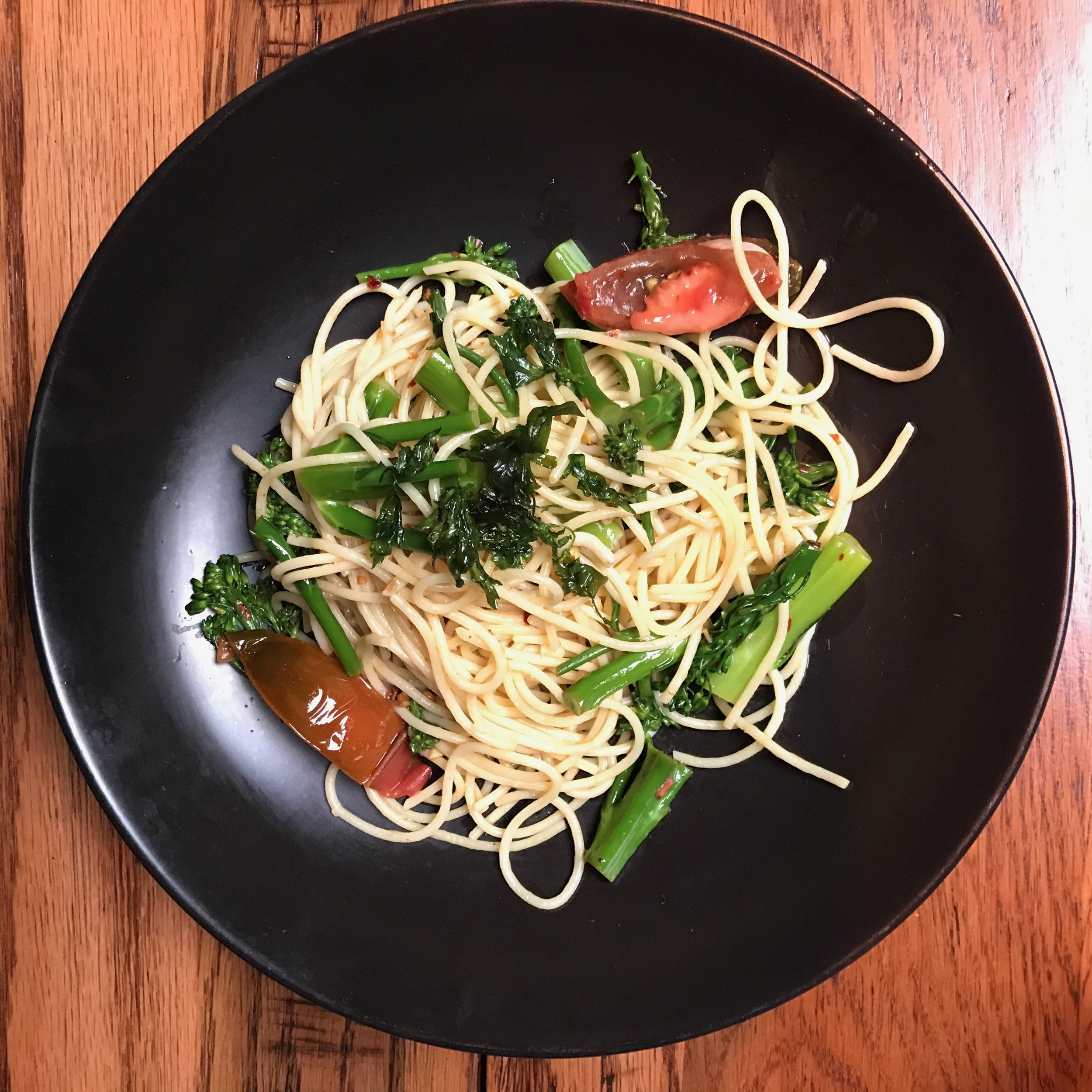 VEGGIE SPAGHETTI FROM BEAUTY AND ESSEX