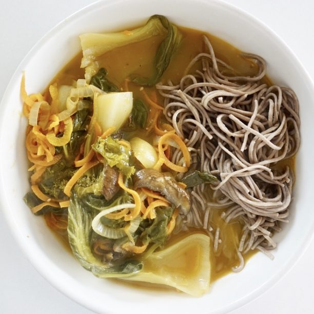 SOBA VEGETABLE SOUP